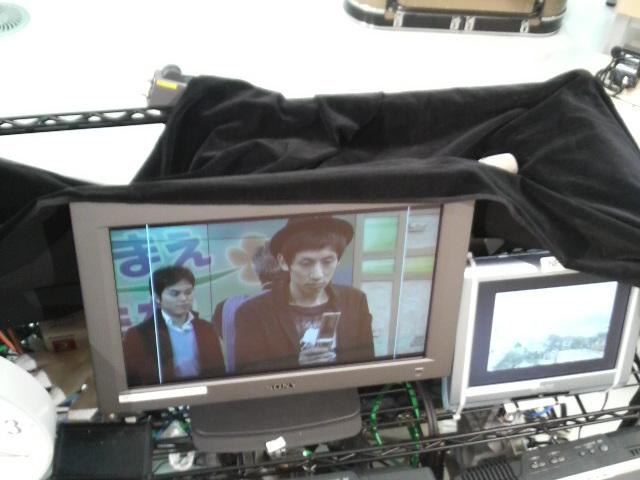 テレビで携帯